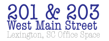 Main Street Lexington South Carolina Office Space