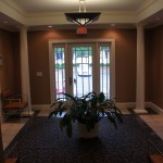 The 201 Building Entry Foyer
