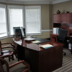 Office with Bay Window
