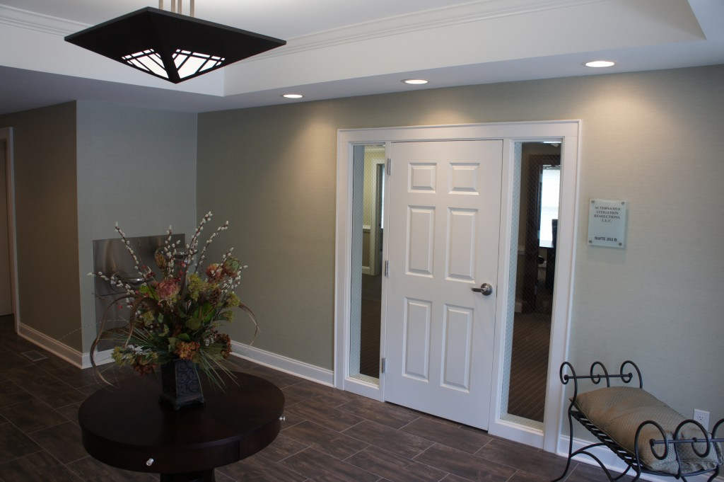 The 203 Building Entry Foyer